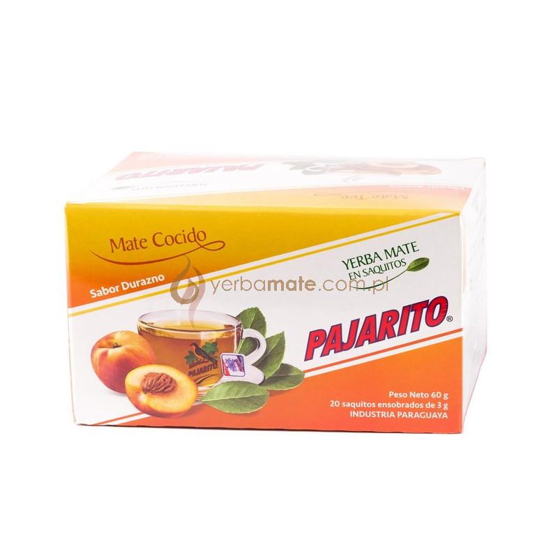 Pajarito w saszetkach brzoskwiniowa 60g