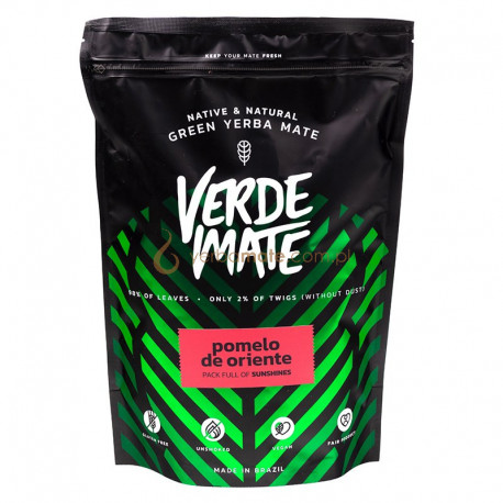 Verde Mate Green Pomelo De Oriente 500g