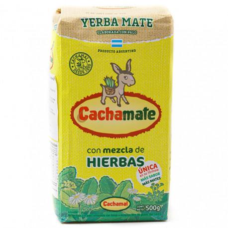 Cachamate Hierbas Amarillo 500g