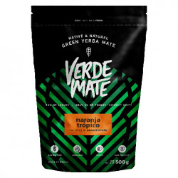 Verde Mate Green Naranja 500g