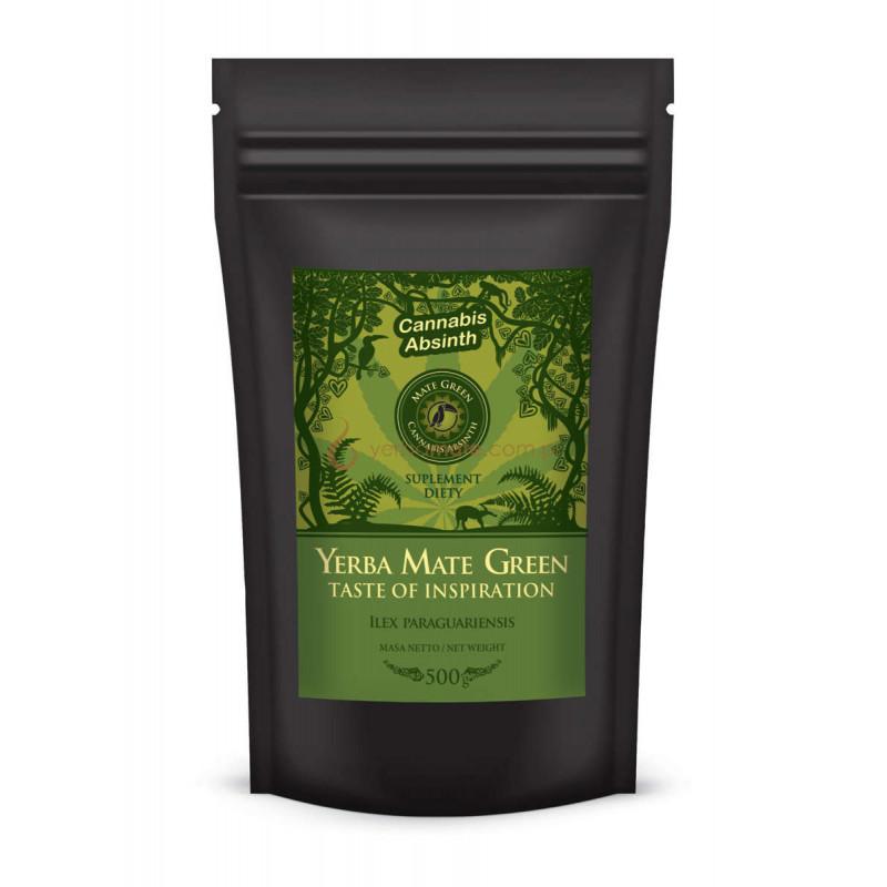 Mate Green Cannabis Absinth 500g