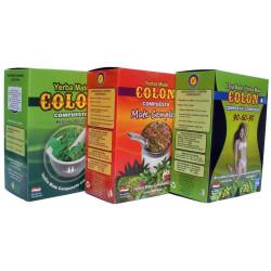 3 ziołowe Yerba Mate Colon